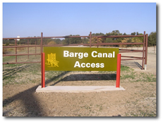 Barge Canal Access