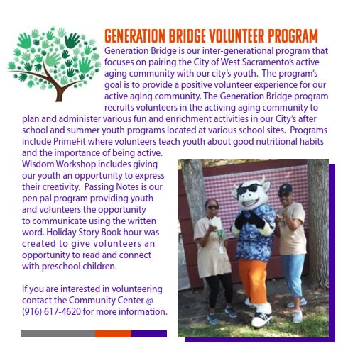 Generation Bridge Volunteer Program