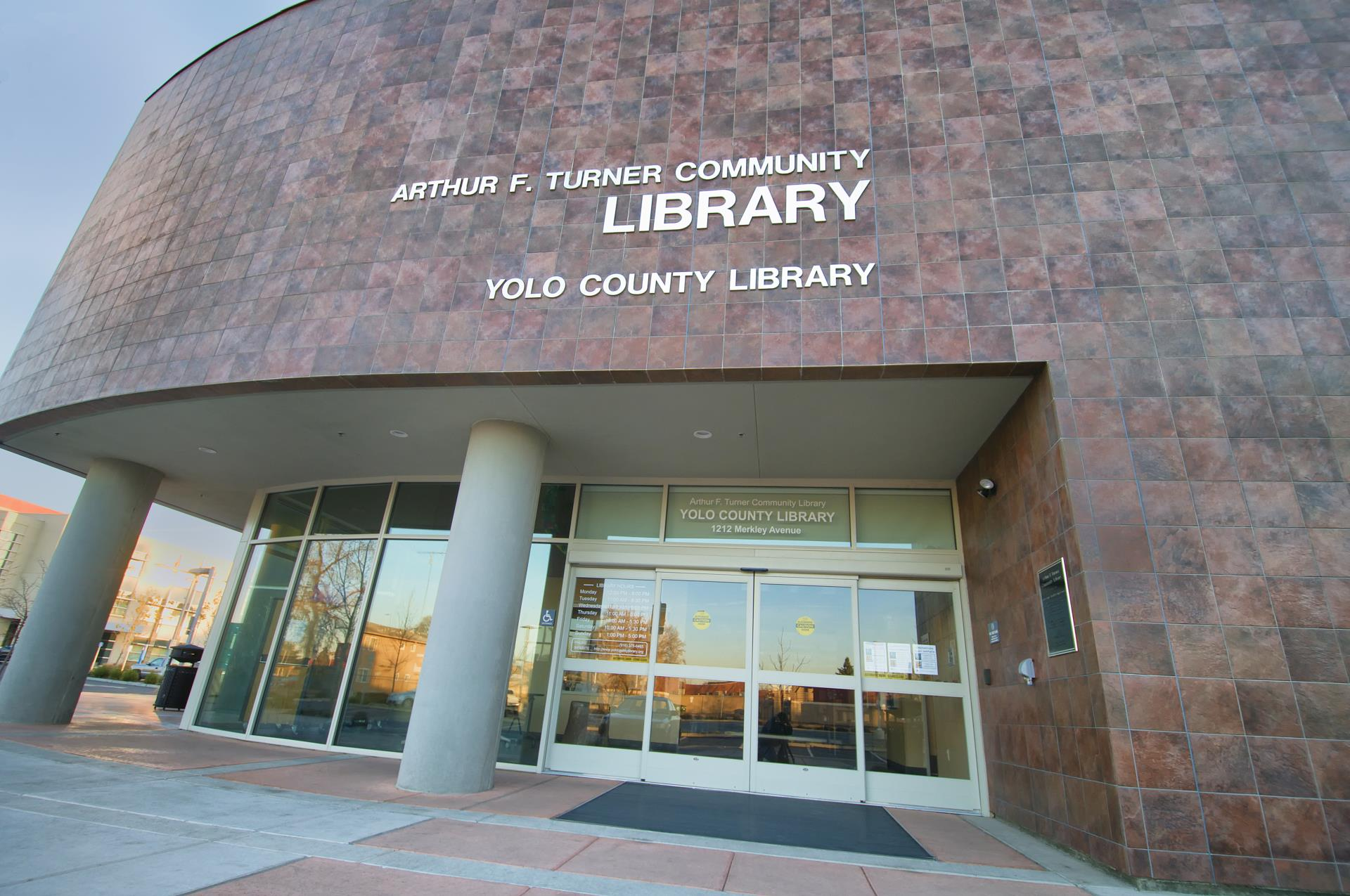 Arthur f turner community library