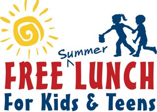 Free Summer Lunch program for kids and teens logo
