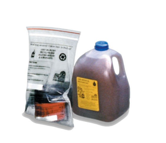 Oil Filter and Bag