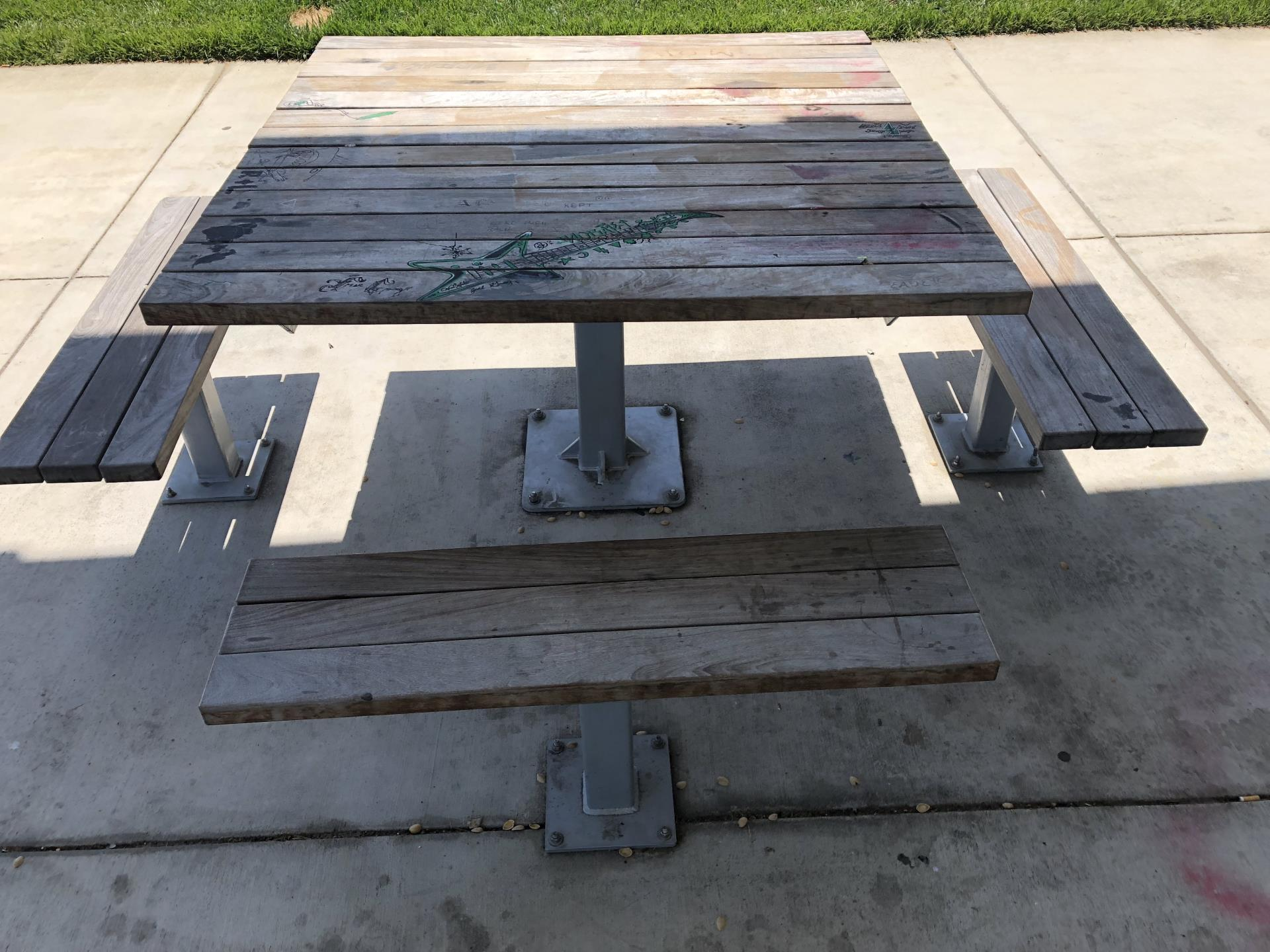 Joey Lopes Park Picnic Table
