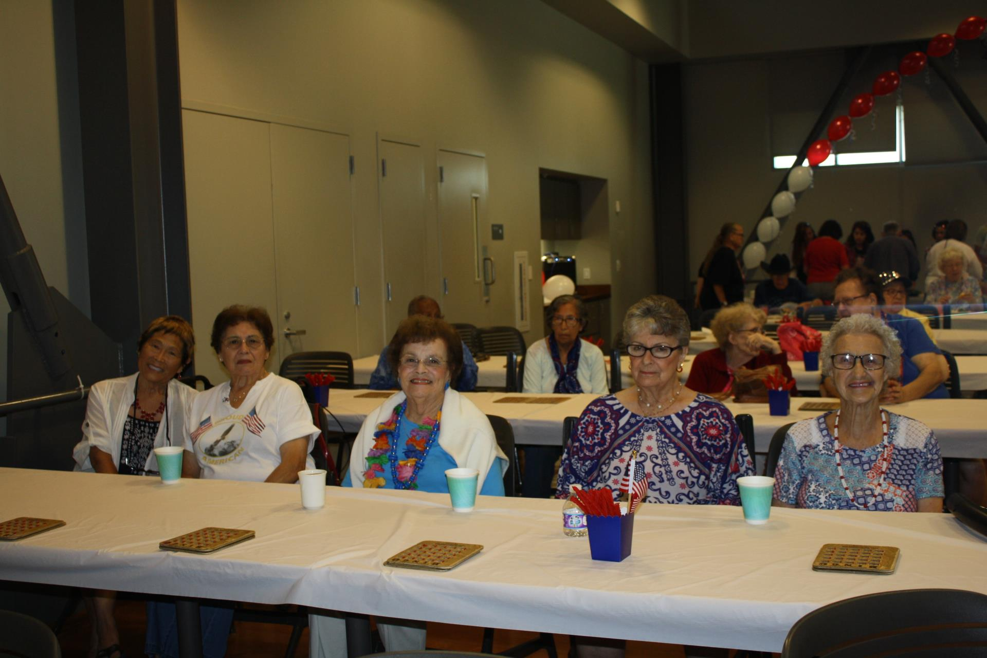 Fab 4th senior celebration at community center