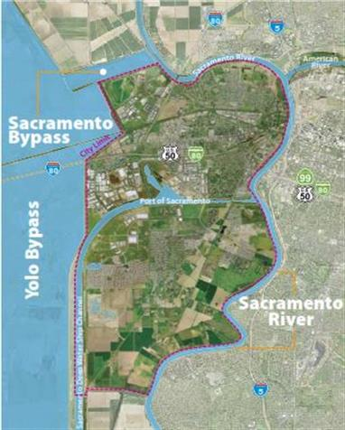 Sacramento and Yolo Bypass