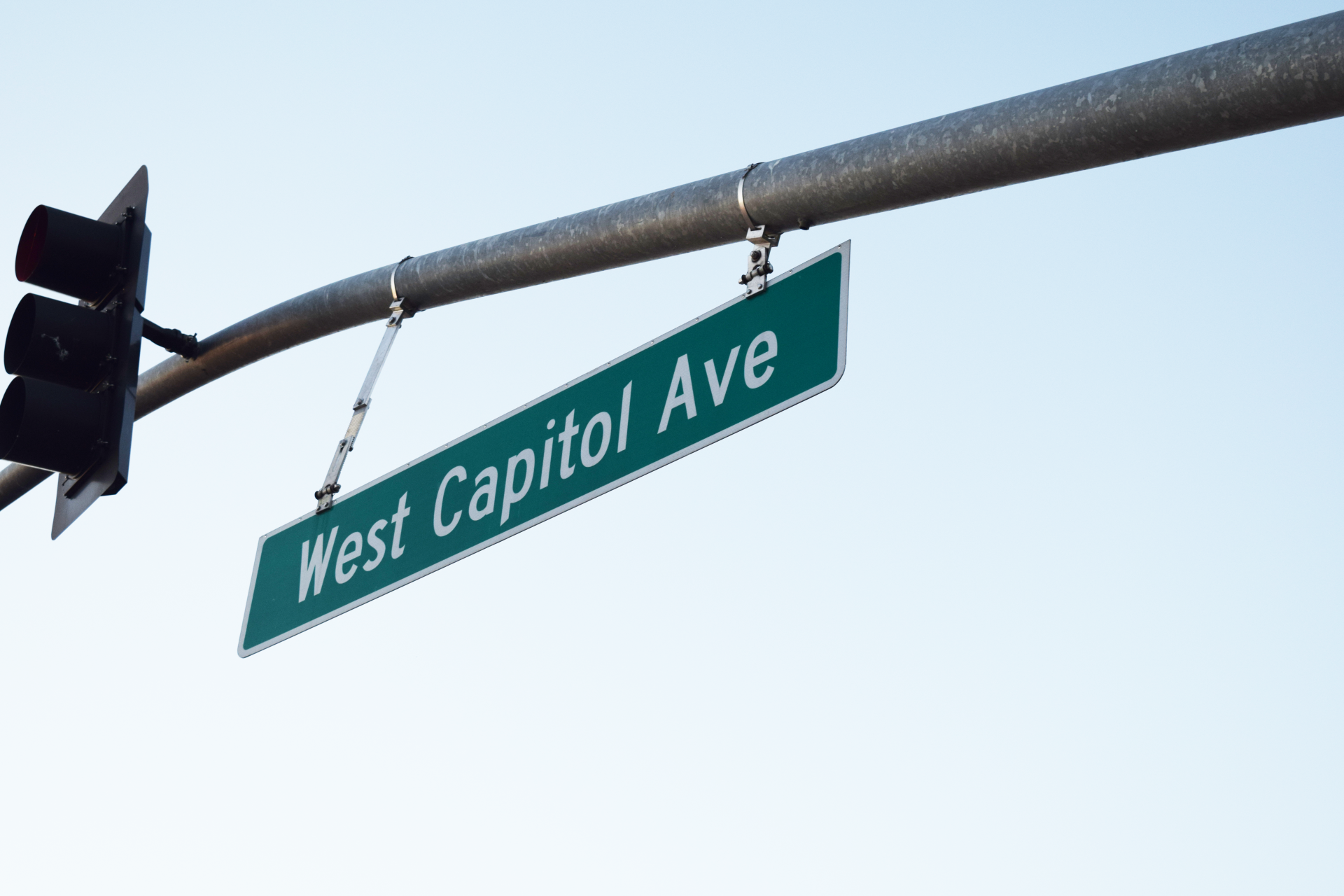 West Cap street sign