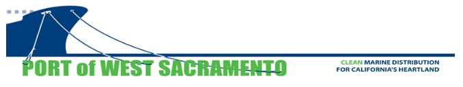 City of West Sacrmento Port Banner