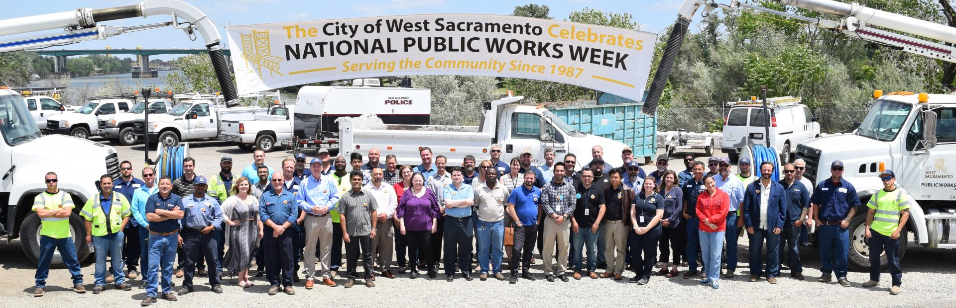 national public works week group photo