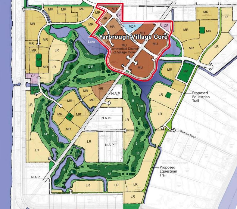 Yarbourgh Site Plan
