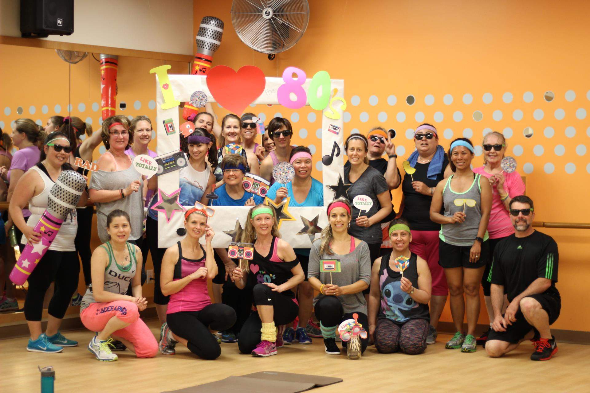 Rec Center 80s Workout Party