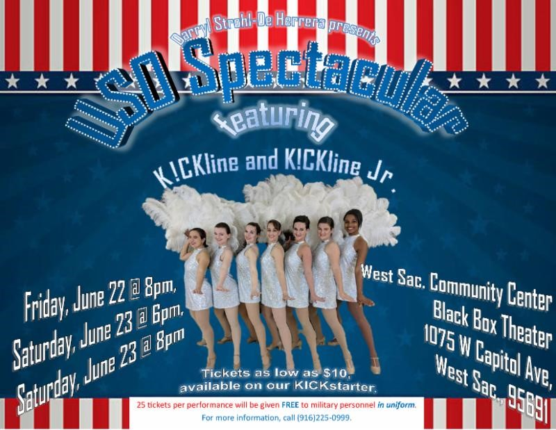 uso spectacular at community center black box theatre