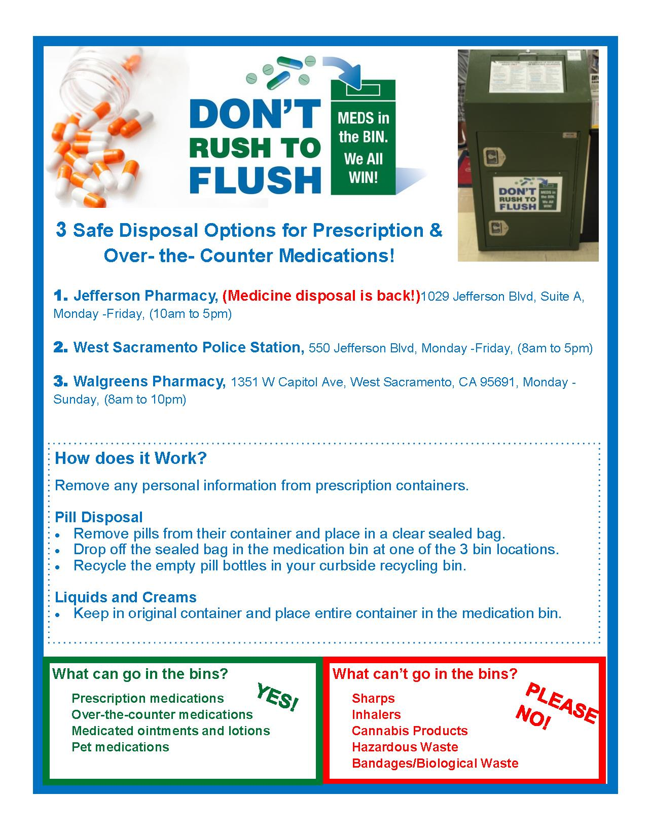 Don't Rush to Flush (7-17-18)