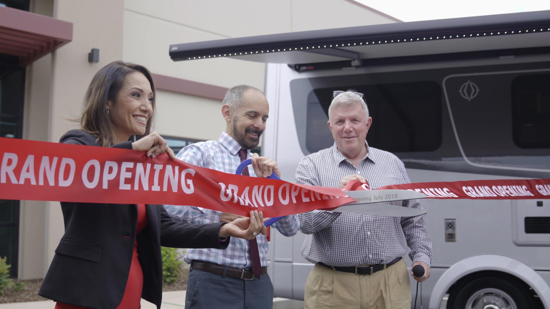 La Mesa RV Ribbon Cutting