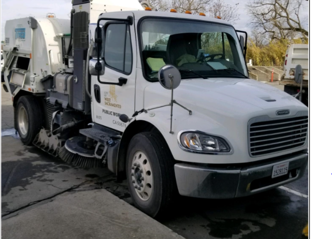City of West Sacramento street-sweeper