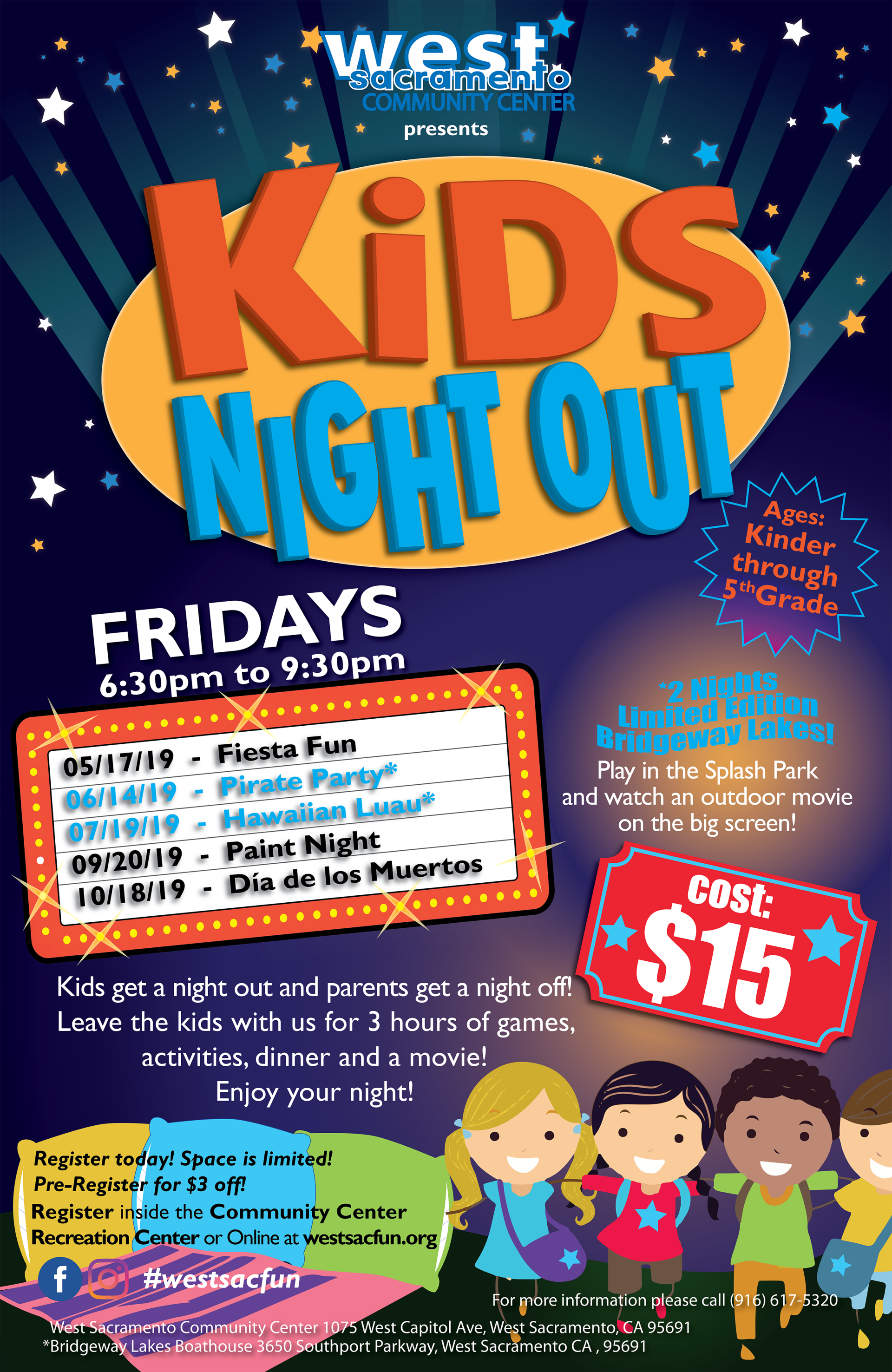 Kids Night Out Flyer