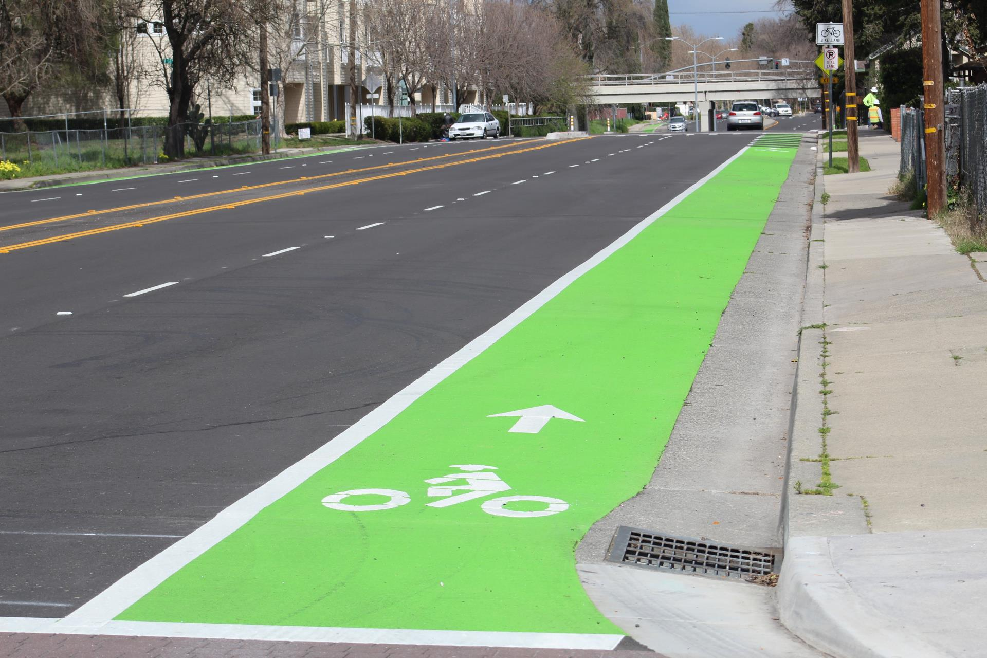 Washington District-Grand Gateway-bike lane