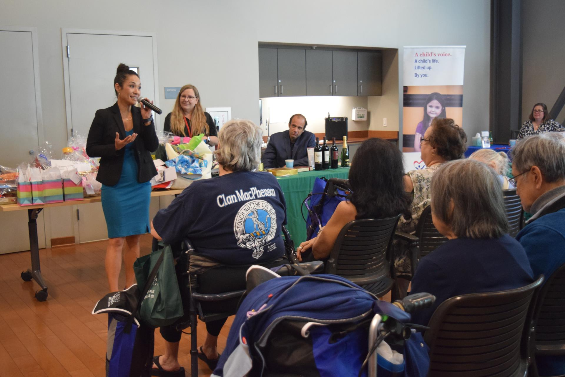 quirina speaks at senior resource fair 2019