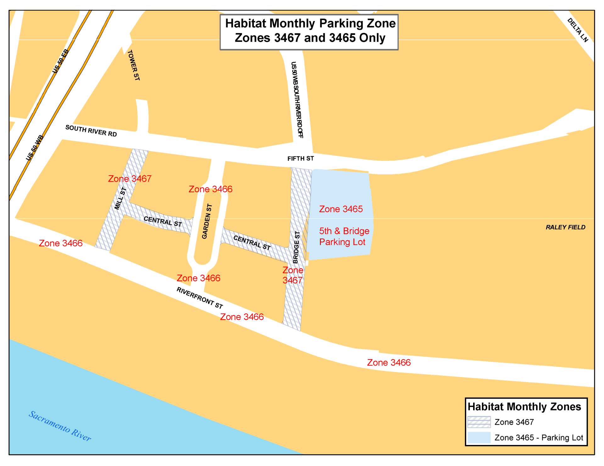 Habitat Monthly Parking Zone