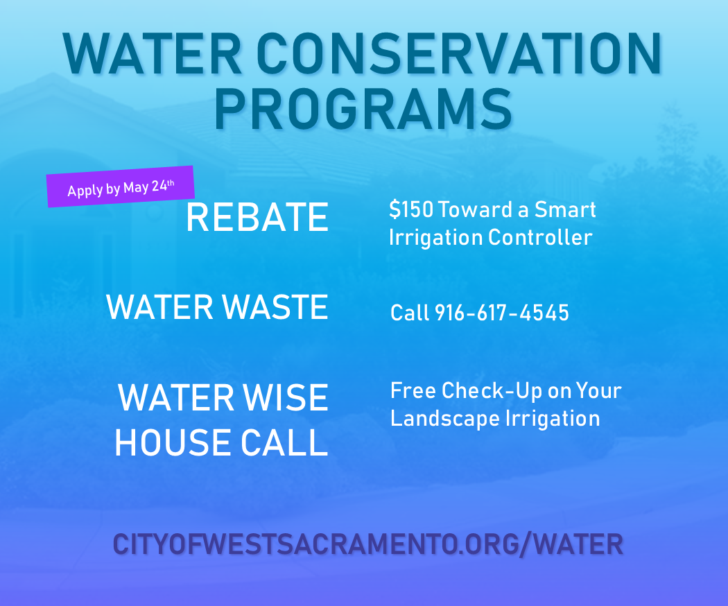 Water Conservation Programs flyer
