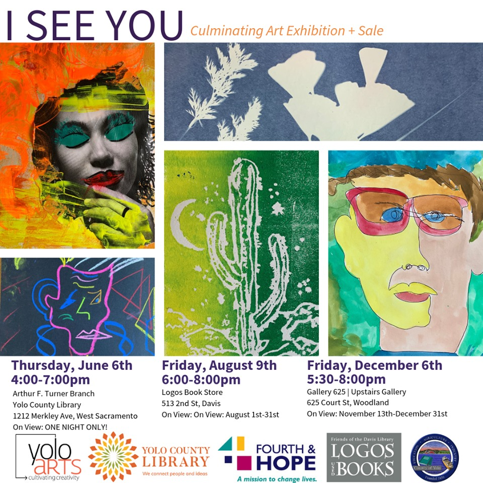 I See You-Art Exhibition and Sale | Calendar Meeting List