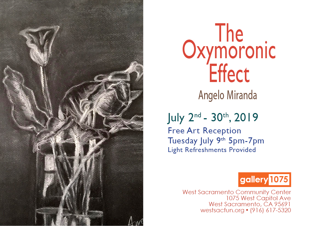2019 July Art Show - the Oxymoronic Effect, art by Angelo Miranda