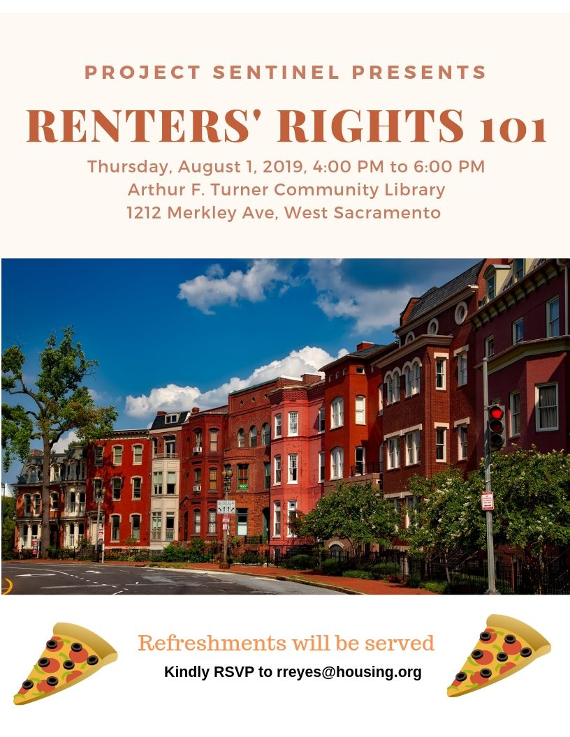 Renter's Rights 101 Flyer