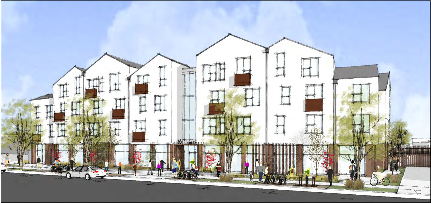 Mercy Housing Permanent Supportive Housing Project Rendering