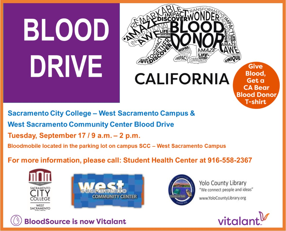 SCC Blood Drive Invitation