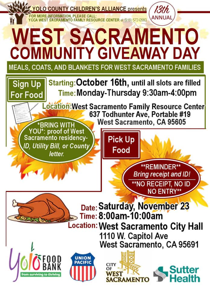Photo of Community Giveaway Day flyer