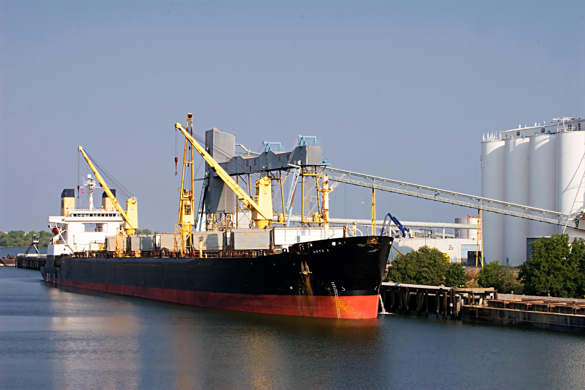Ship in Port of West Sacramento
