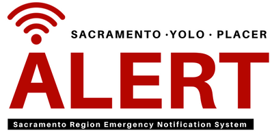 logo for yolo alert emergency notification system